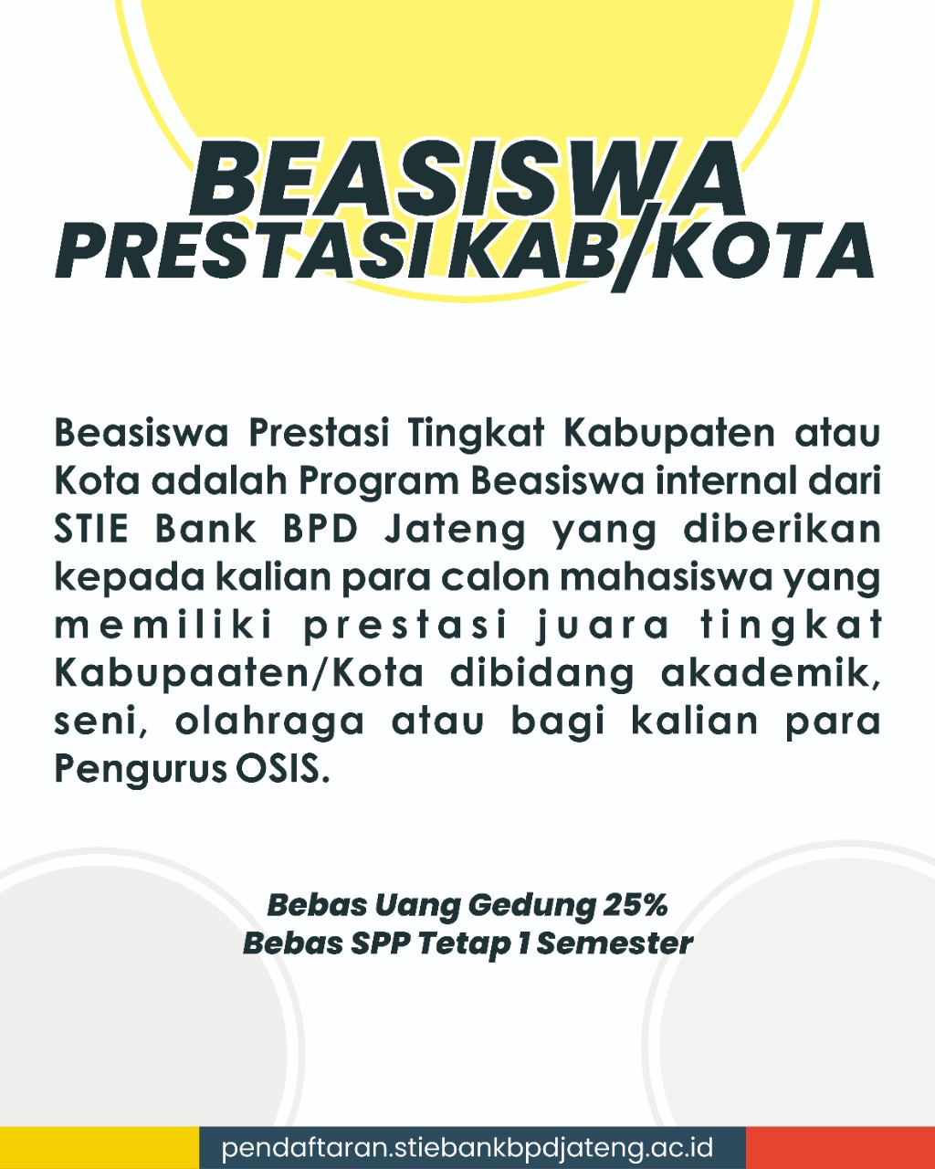 beasiswa p6